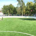 Хоккейный корт на траве, поселок Коммунарка