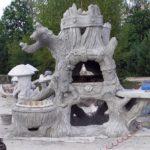 Каркасное производство из камня