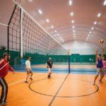 Спортивный манеж с остеклением