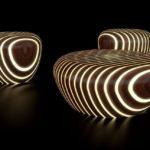 Гламурная мебель в интерьере