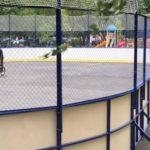 Хоккейный корт в Новопеределкино