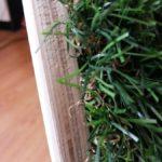 Строение топиарного домика из искусственной травы