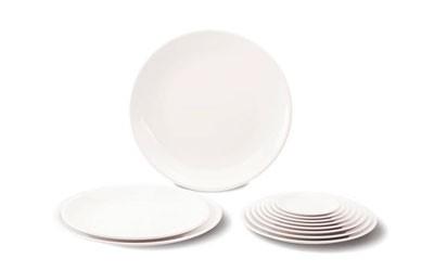 Круглые тарелки с плоским дном из меламина