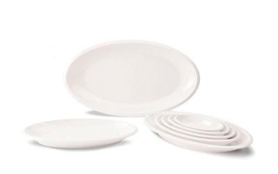 Овальные тарелки с глубоким дном из меламина