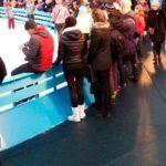 Резиновое рулонное покрытие на Красной площади