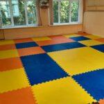 Модульные покрытия для залов