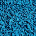EPDM крошка синего цвета