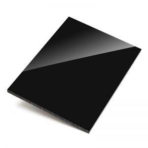 Оргстекло Plexiglas XT — чёрный