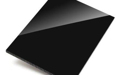 Экструзионное акриловое стекло Plexiglas XT чёрное