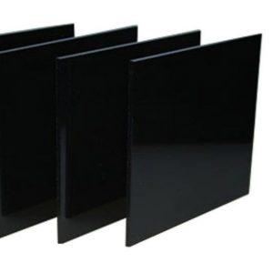 Экструзионное акриловое стекло Acryma чёрное