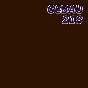 Листовой полистирол коричневый SL218 GEBAU ударопрочный