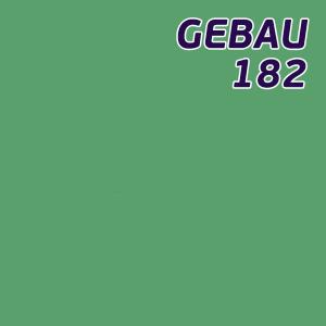 Листовой полистирол зелёный SL182 GEBAU ударопрочный