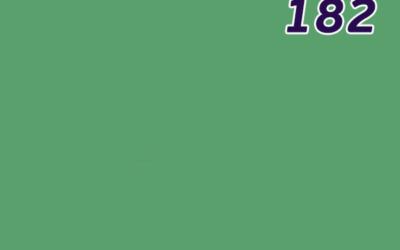 Листовой полистирол зелёный SL182 GEBAU ударопрочный 3000*2000 мм