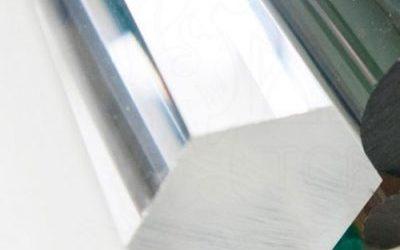Шестигранные акриловые стержни  — прозрачные