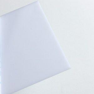 Монолитный поликарбонат белый
