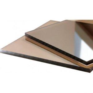 Листы поликарбоната бронза монолит